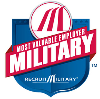 Most Valuable Employer Military