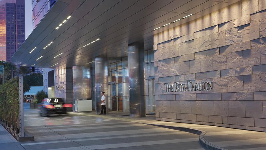 Ritz Carlton Car Park Entrance