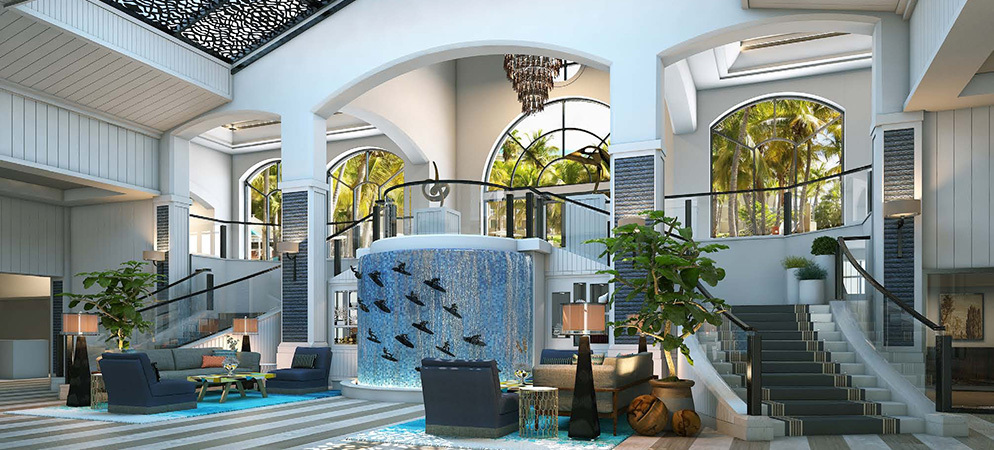 The Waterfront Beach Resort A Hilton Hotel Huntington