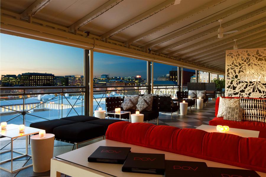 P O V Rooftop Lounge And Terrace Washington Dc Jobs