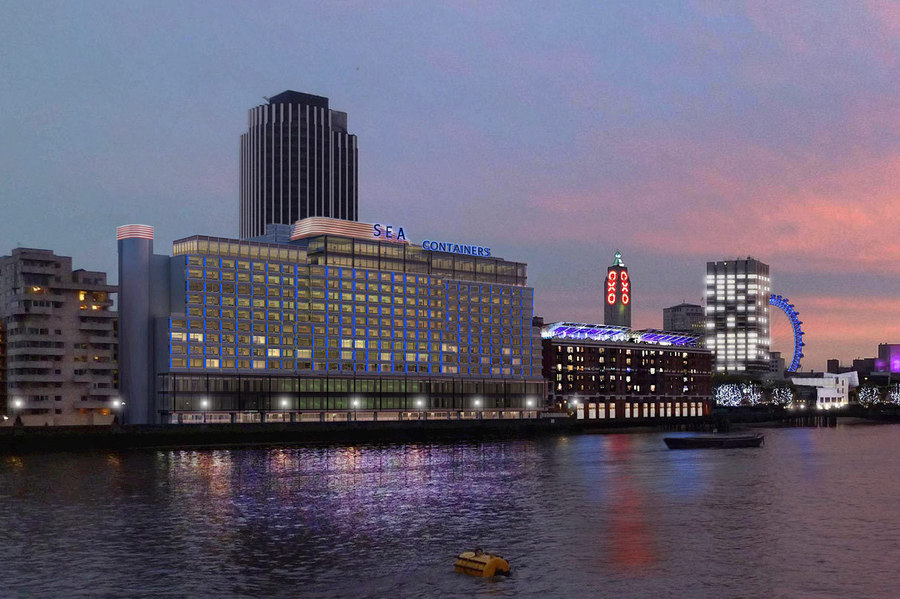 Mondrian London At Sea Containers London United Kingdom