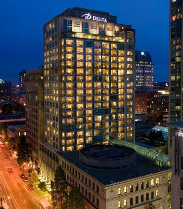 Delta Hotels Vancouver Downtown Suites Vancouver Bc