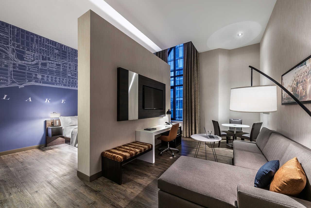 cambria hotel chicago loop theatre district chicago il. Black Bedroom Furniture Sets. Home Design Ideas