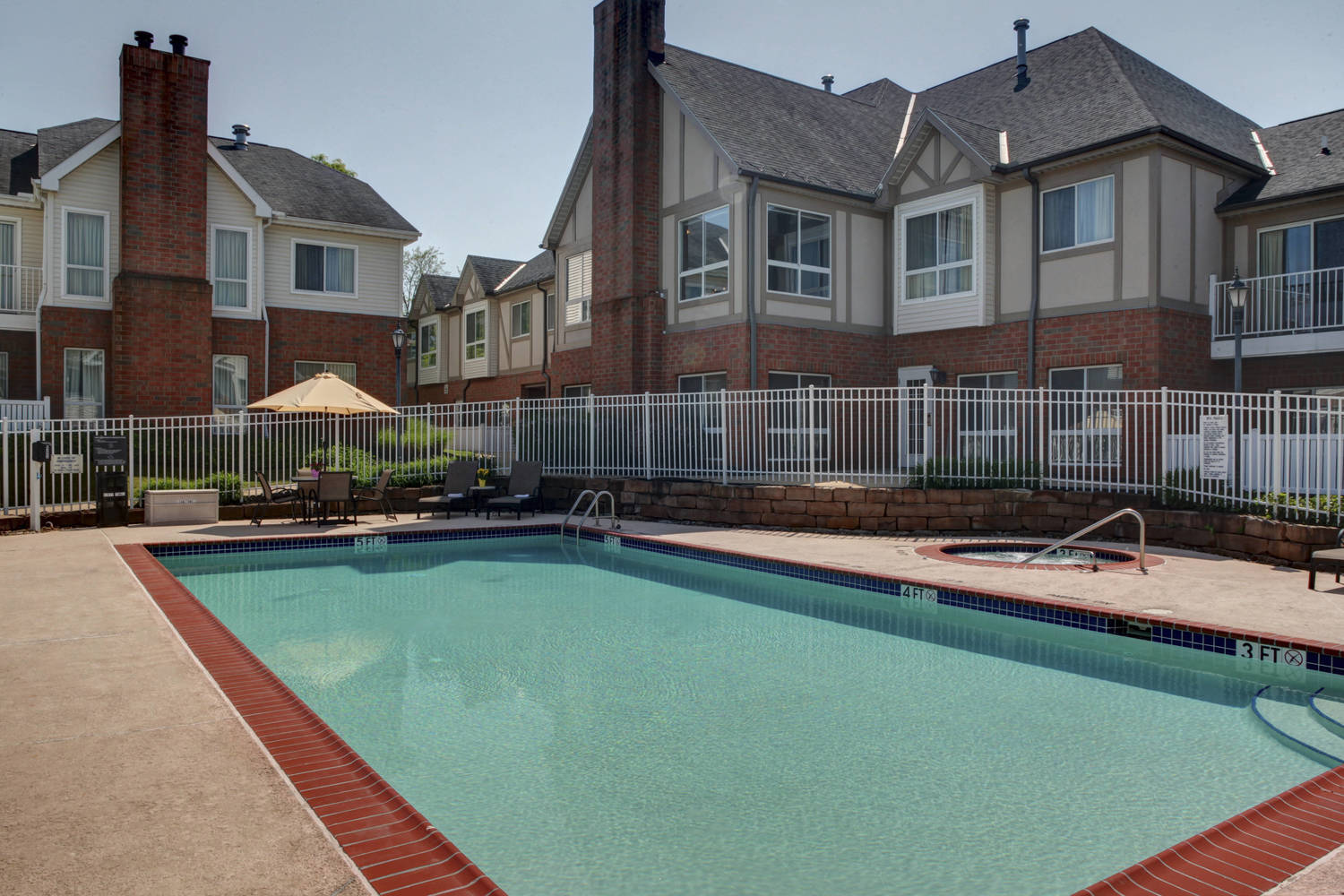 Our seasonal outdoor pool and whirlpool is inviting for our guest to gather with friend, family or co-workers. Handicap Accessible.
